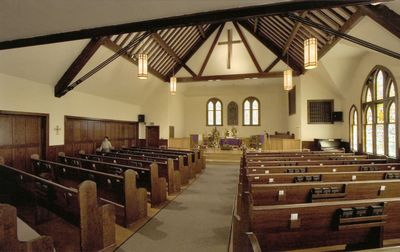 200+ person capacity chapel at the Sumner United Methodist Church with reception area downstairs, 901 Wood Avenue. Located behind Curnow Funeral Home.